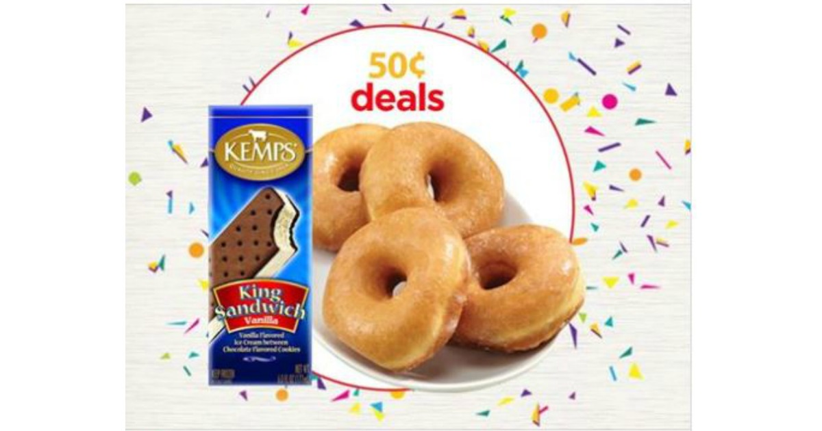 Cub Bulk Bakery Donuts Kemps King Ice Cream Sandwich For Just 050 Foods TODAY ONLY 8 2