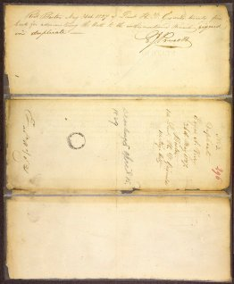 Enlistment Papers - Edgar A. Perry [Poe]
