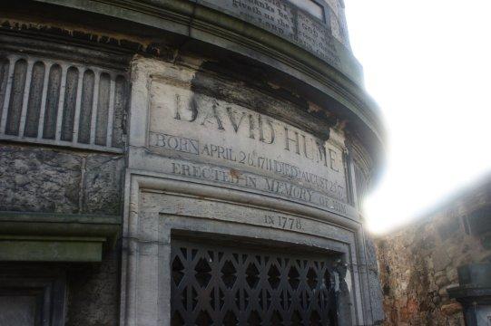 Philosopher David Hume, Edinburgh
