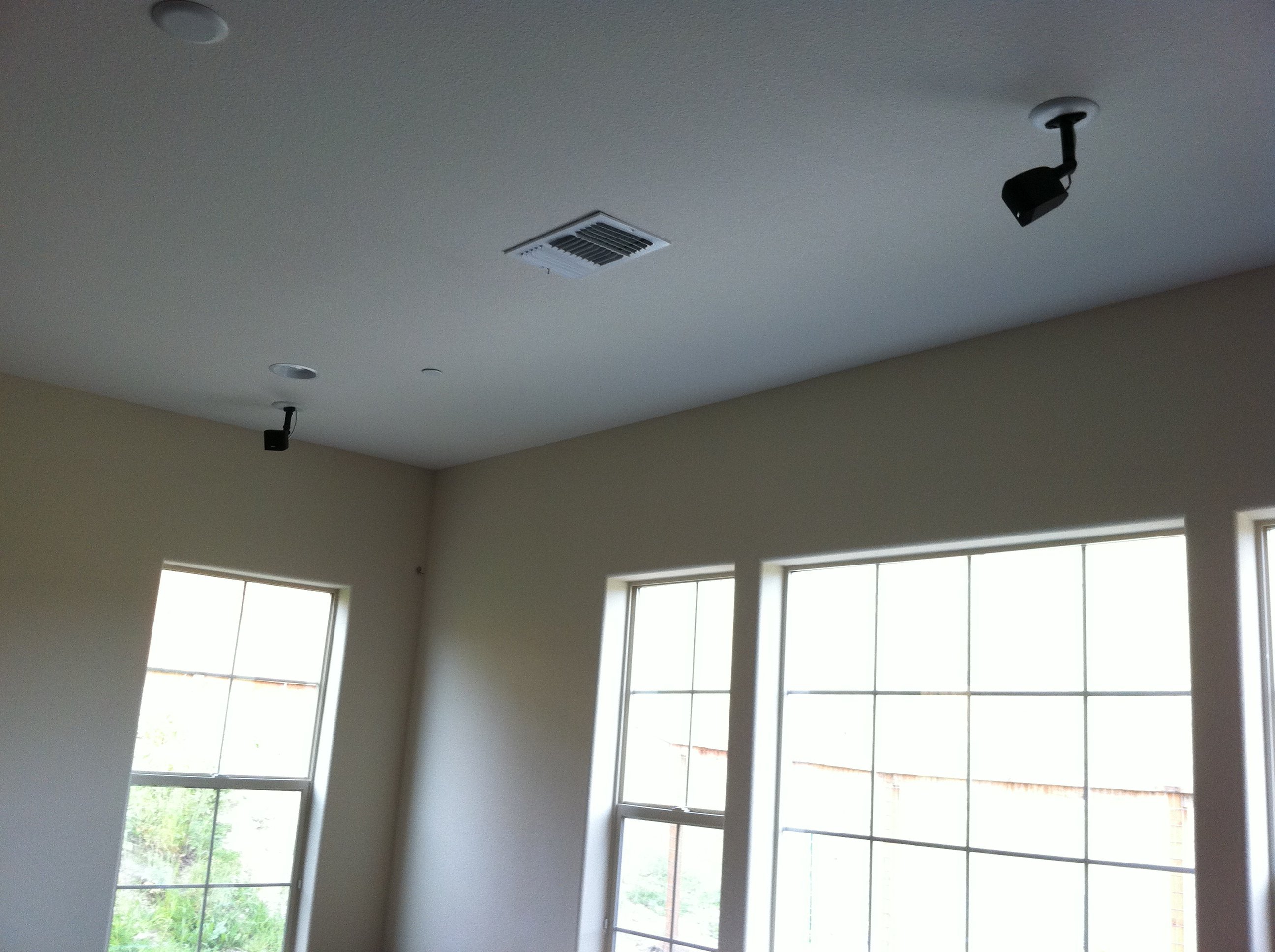 Wiring Home Ceiling Speakers