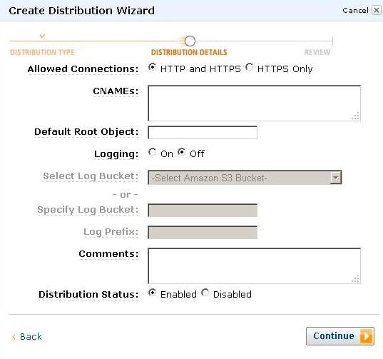 AWS Management Console Create Distribution Wizard2 e1314228178299 - مجلة ووردبريس