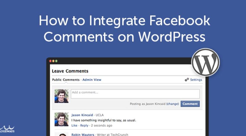 كيفية ادارة تعليقات فيسبوك عن طريق ووردبريس