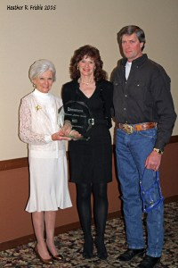 2014 Minnesota Stallion Award: Ghazi..owners: Eugene & Rita Boehlke