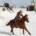 PHOTO ESSAY: Skijoring at Canterbury Park