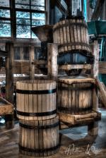 Old cider barrels