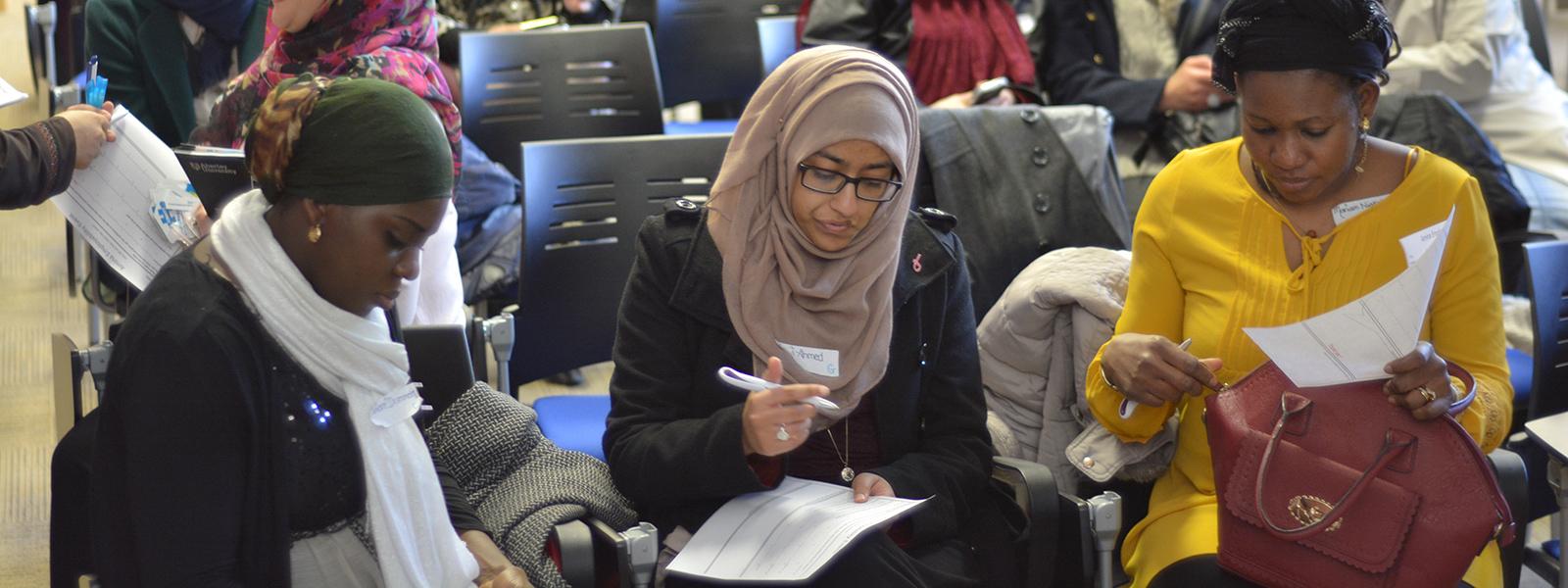 Amina Muslim Women Resource Centre  Employability Amina Muslim Women Resource Centre