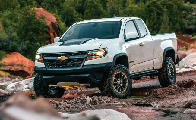 The 2020 Chevrolet Colorado Modern Work Truck Solutions