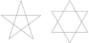 「五芒星 六芒星」の画像検索結果