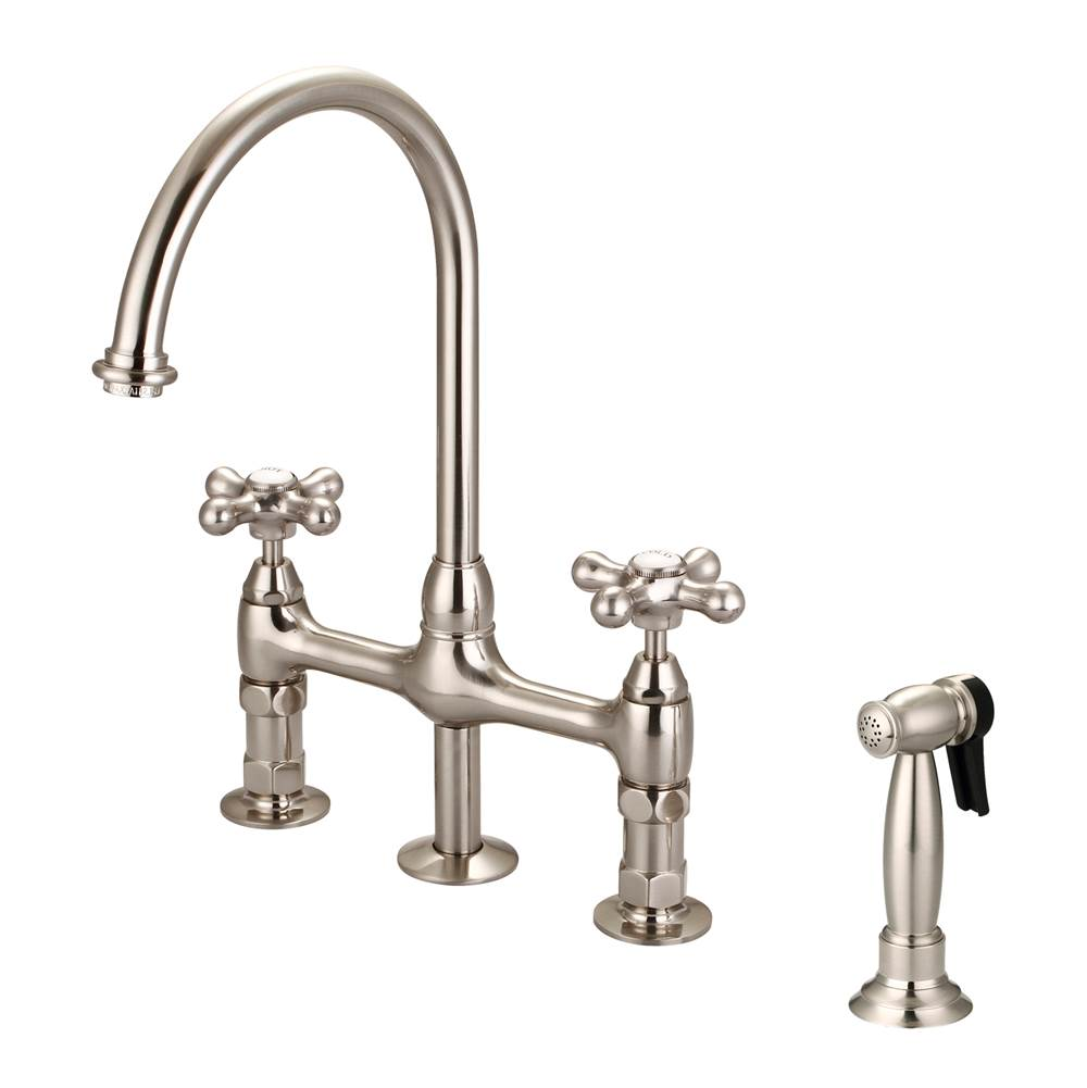 bridge faucets kitchen commercial michael wagner and sons 879 00
