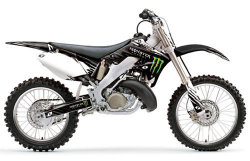 Kit déco CR 125-250 02/07 Monster Energy One Industries
