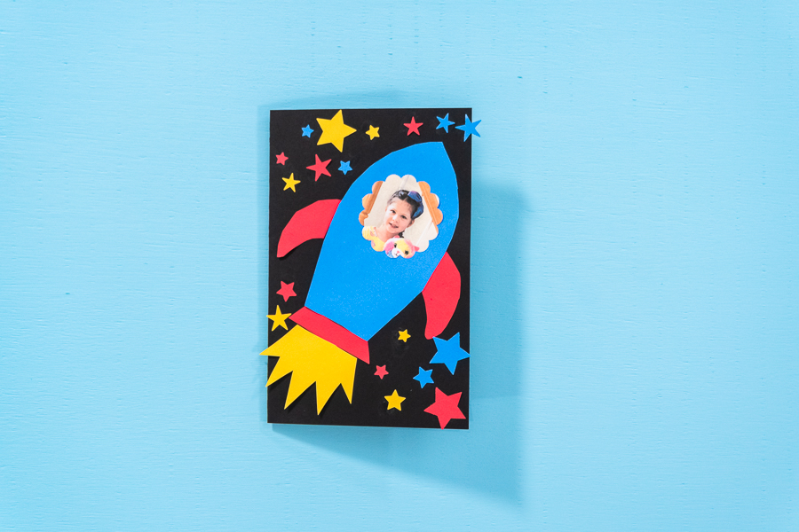 DIY Father's Day Rocket card