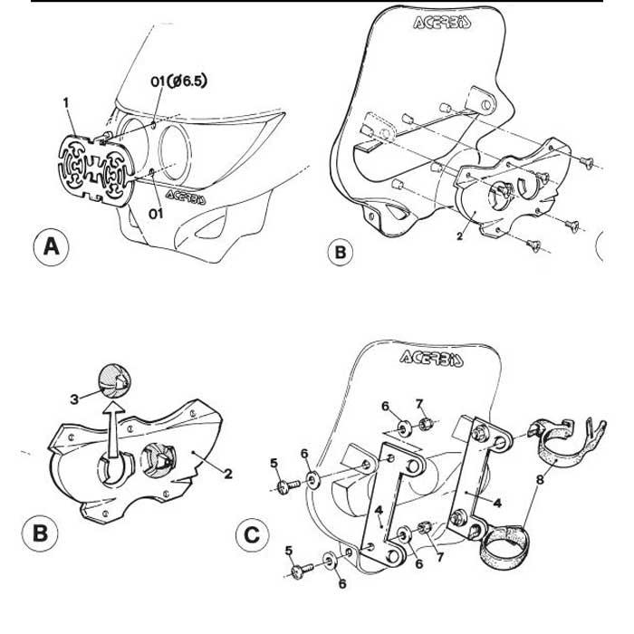 Acerbis Headlight Wiring Diagram Electrical Circuit Electrical