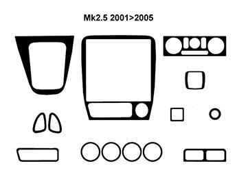 Mk2 2.5 MX5 1998 2005, Mk2 2.5 MX-5 Interior Parts 1998