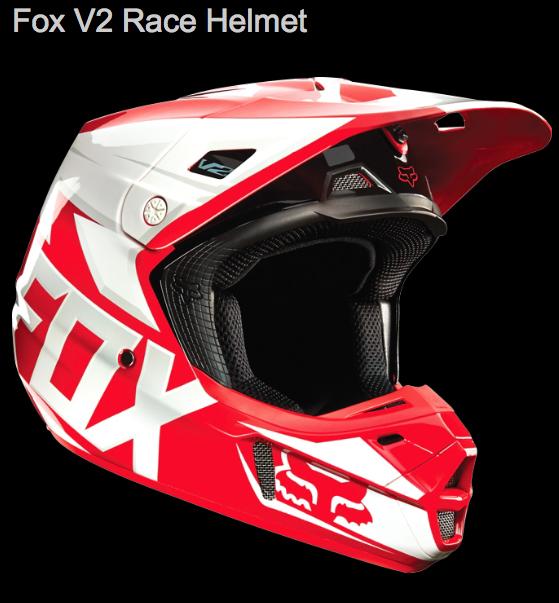 V2 Race White Red