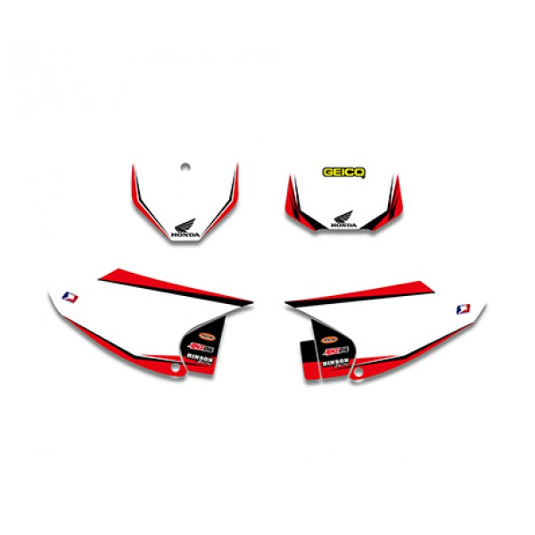 GEICO Graphics Decals Kit For HONDA CRF150 CRF230 CRF150F