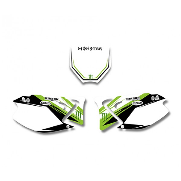 Monster GRAPHICS DECALS Kit For KAWASAKI KX125 KX250 2003