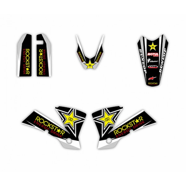 Rockstar GRAPHICS DECALS Kit For KTM EXC 125/200/250/300