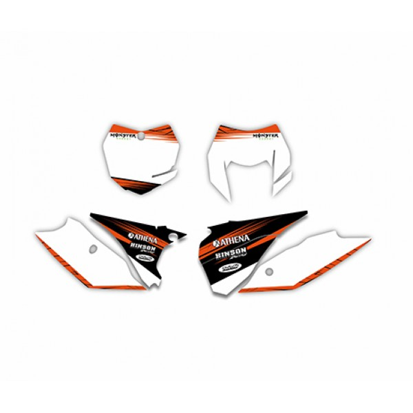 Monster GRAPHICS DECALS Kit For KTM 125/200/250/300/450