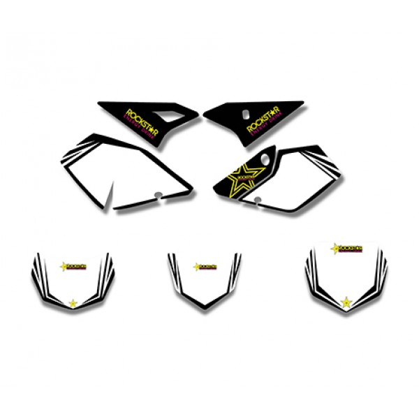 Rockstar GRAPHICS DECALS Kit For SUZUKI DRZ400 DRZ 400