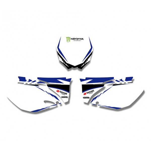 Monster GRAPHICS DECALS Kit For YAMAHA YZ250F YZ450F 2006