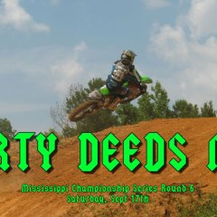 Dirty Deeds Mississippi Championship Series 50-65cc class Video