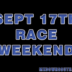 Lots of racing this weekend