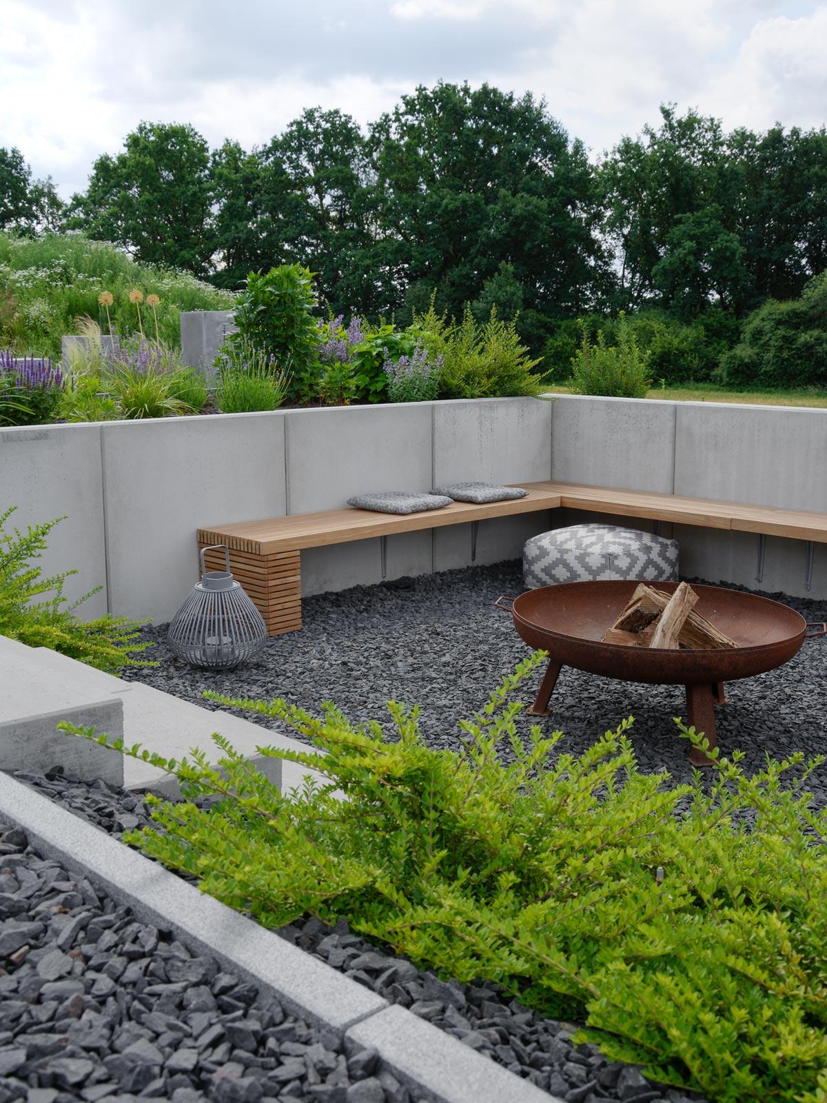 GARTEN  die neue Feuerstelle und Lichtkonzept im Garten  mxliving