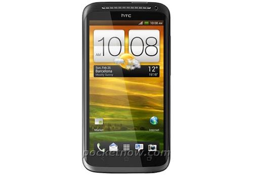หลุดภาพ HTC One X แบบหน้าตรง