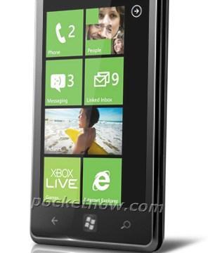 หลุดภาพทางการ LG Miracle WP7 แจ่มด้วยจอ Nova
