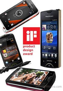 Sony Ericsson Xperia กวาดรางวัลด้านการออกแบบ