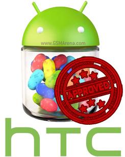 HTC บอกเองมาแน่ Android 4.1 Jelly Bean บน HTC One X, XL และ S