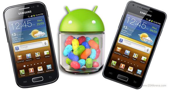 ขึ้นทางด่วน! Samsung Galaxy Ace 2 และ S Advance ขอข้าม ICS รับ Jelly Bean แทน