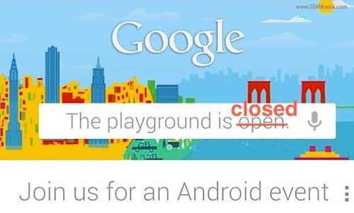 Google ยกเลิกงานวันที่ 29 ตุลาคมนี้