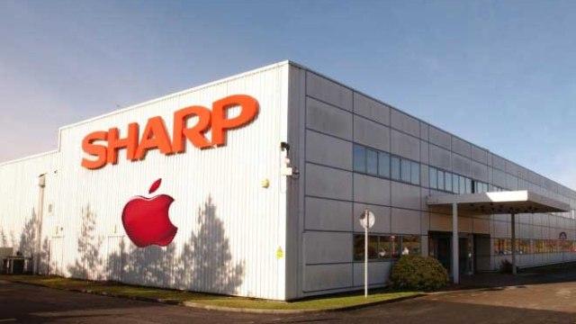 Apple พิจารณาลงทุนในกิจการ LCD ของ Sharp