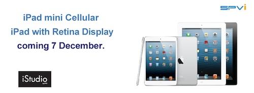 เจอกันพรุ่งนี้ iPad mini / iPad 4th รุ่นรองรับ Cellular