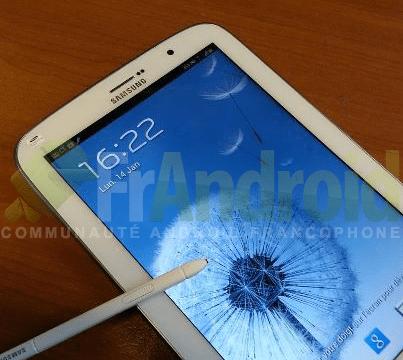 มาอีกช็อตภาพ Samsung Galaxy Note 8.0 พร้อมปากกา S-Pen