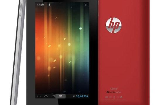 HP เปิดตัว Slate 7 ท้าชน ASUS Google Nexus 7