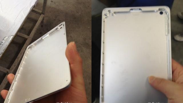 หลุดฝาหลังที่คาดว่าเป็นของ iPad mini 2 ตัวใหม่ ที่จะเปิดตัวกลางปีนี้