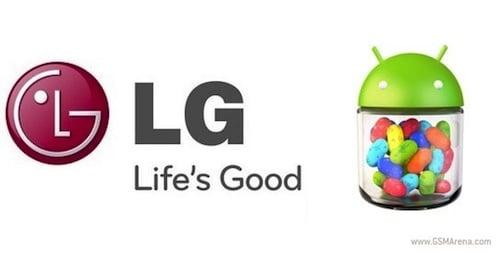 Jelly Bean ของ LG Optimus L7 / 4X HD พร้อมแล้ว