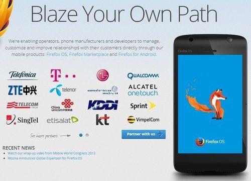 Foxconn จะเปิดตัวสมาร์ทโฟน Firefox OS ในวันที่ 3 มิถุนายนนี้