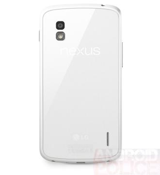 ถึงเวลาของสีขาว เพราะภาพนี้หลุดอย่างเป็นทางการของ Nexus 4