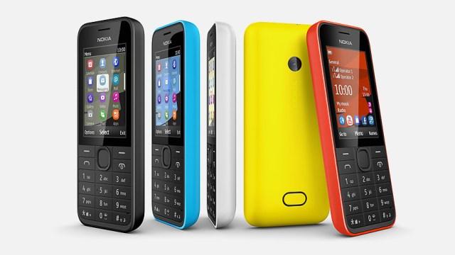 โนเกียเปิดตัวสามรุ่นใหม่ Nokia 207, 208 และ 208 Dual SIM รองรับเครือข่าย 3G