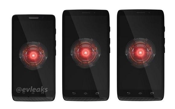 จัดไปกับภาพครอบครัว Motorola DROID อันประกอบด้วย Mini, Ultra และ MAXX
