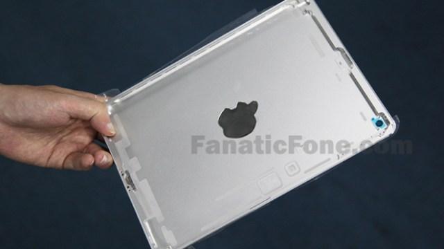 หลุดตัวชิ้นส่วนตัวเครื่อง iPad 5 ใช้ทรงเดียวกับ iPad mini