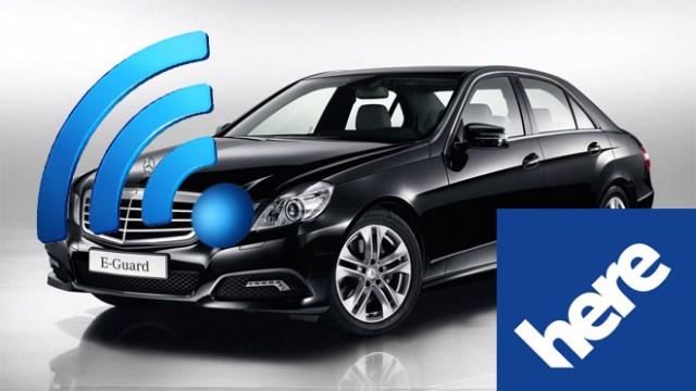 แผนการใหม่… Nokia HERE จับมือ Mercedes Benz หวังพัฒนารถยนต์ไร้คนขับ