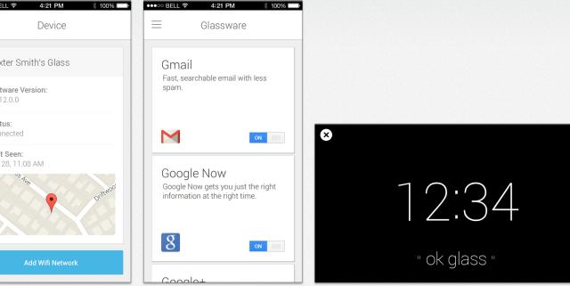 แอพสำหรับ Google Glass ออกเวอร์ชัน iOS แล้ว