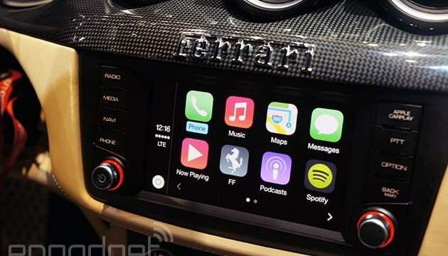 ในอนาคต รถจะรองรับทั้ง CarPlay และ Android Auto