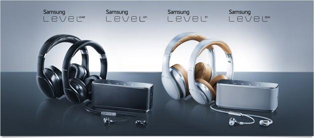 Samsung เปิดตัวลำโพงและหูฟังในตระกูลใหม่ Level