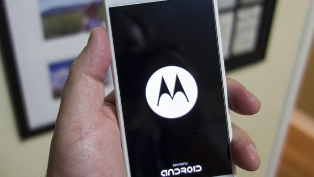 โลโก้ Powered by Android ไม่ใช่ตัวเลือก Motorola เป็นรายต่อไป