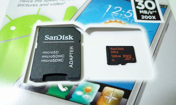 เครื่อง XPERIA รุ่นใดที่รองรับการใช้งาน MicroSD 128GB ได้แล้วบ้าง?